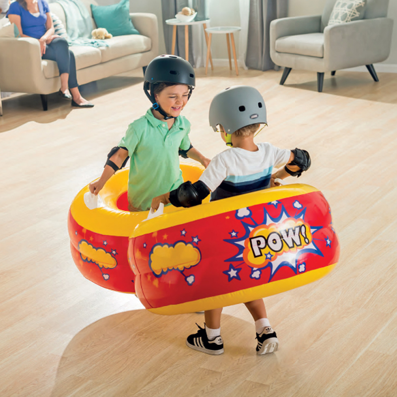 Hands-on Type Impact Swimming Ring Bump Music Childrens Inflatable Toys Interactive Entertainment ProductsHands-on Type Impact Swimming Ring Bump Music Childrens Inflatable Toys Interactive Entertainment Products