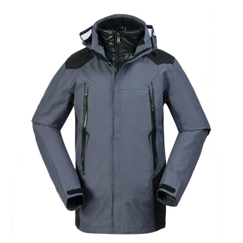 Camping Outdoor Down Jackets Men  Windproof Waterproof Trekking Climbing Sports Coat Autumn Winter Hiking Jacket Sportswear men and women winter ski snowboarding climbing hiking trekking windproof waterproof warm hooded jacket coat outwear s m l xl