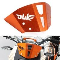 Motorcycle Universal Adjustable Risen Clear Windshield Wind Screen Protector For KTM Duke 125 200 390 Duke