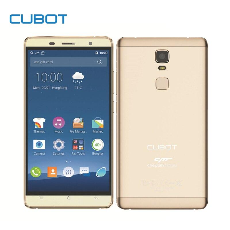 Cubot Original Cheetah 5.5 Pulgadas FHD Pantalla Smartphone Android 6.0 MTK6753A