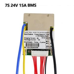 Image 4 - ליתיום BMS 7S 24V 15A, 20A ו 30A BMS עבור 24V ליתיום יון סוללה עם פונקצית איזון