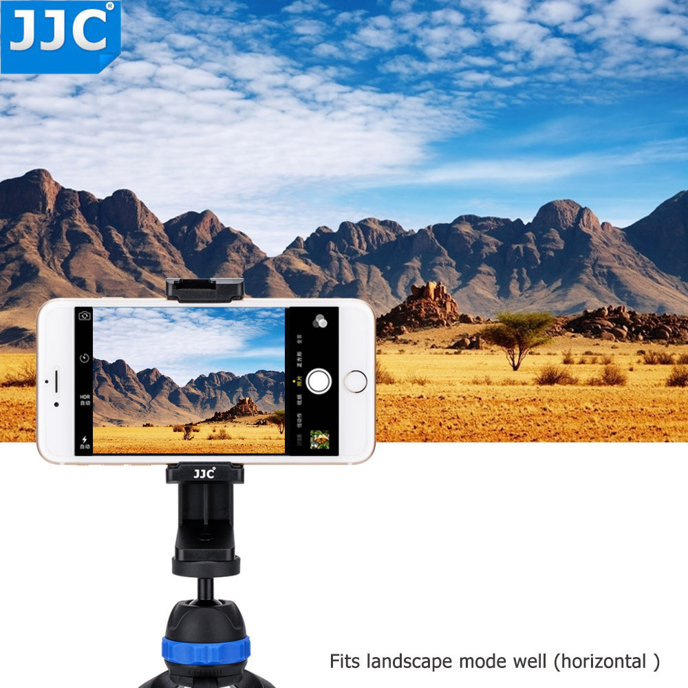 JJC Smart Phone Stand 56-105mm Clip ajustable Selfie Stick Mini - Cámara y foto