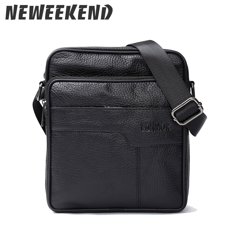купить New Arrival Fashion Business Leather Men Messenger Bags Promotional Small Crossbody Shoulder Bag Casual Man Bag 689 онлайн