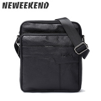 New Arrival Fashion Business Leather Men Messenger Bags Promotional Small Crossbody Shoulder Bag Casual Man Bag 689