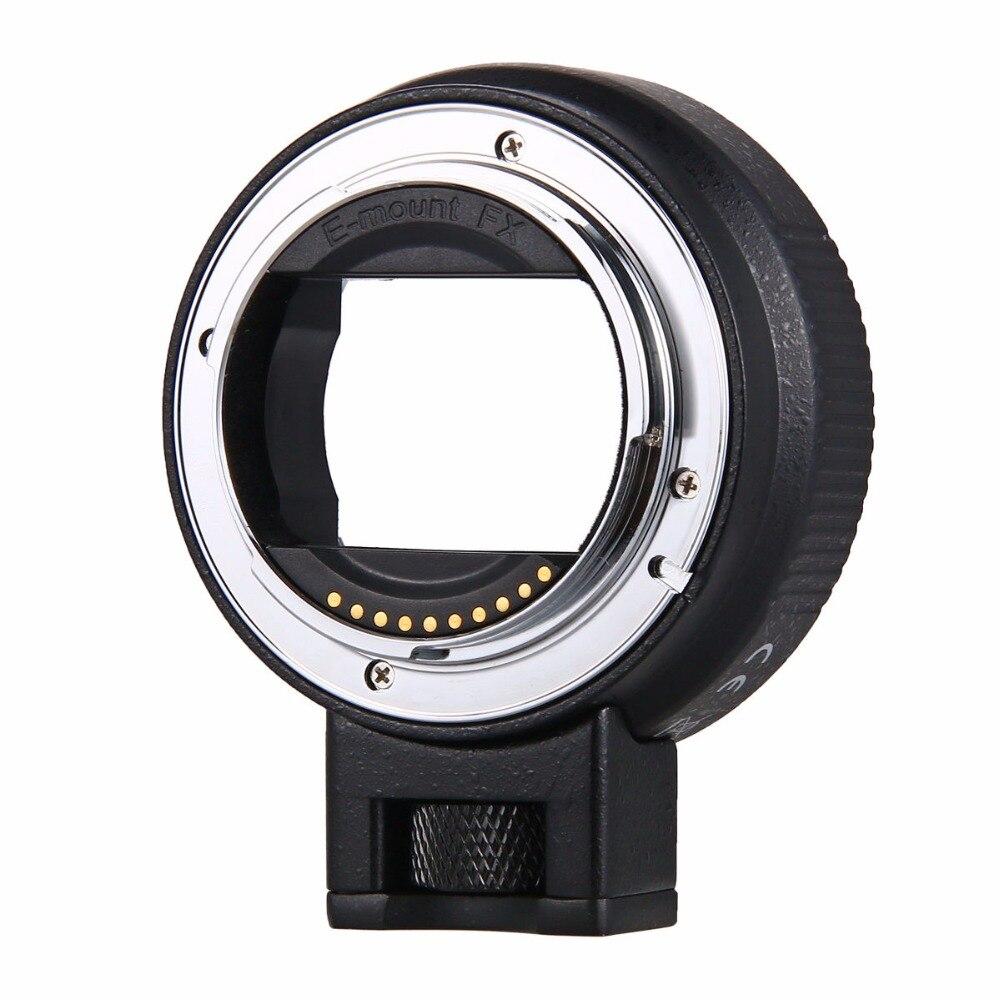 Enfoque automático EF-NEX lente adaptador de montaje para Sony Canon EF EF-S lente para E-Mount NEX A7 A7R A7s NEX-7 NEX-6 5 completa