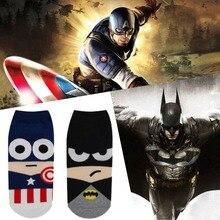 Superhero MARVEL DC Socks | IronMAN | BatMan | SuperMan | Green Lantern | SpiderMan |Flash | Captain America | Avengers | Thor | Hulk |Wonder Woman