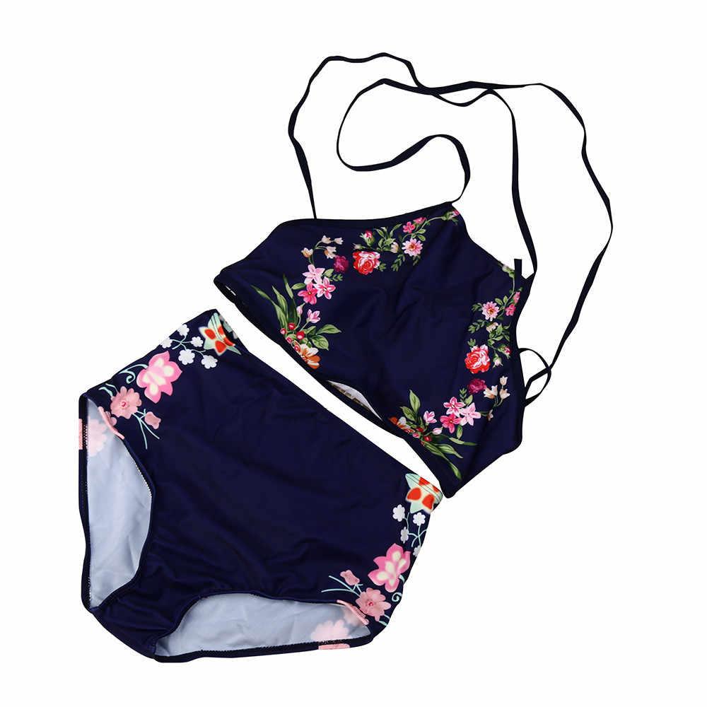 Maillot de bain femme Sexy Bikini maillot de bain 2020 maillots de bain femmes ensemble Bikini push-up rembourré imprimé soutien-gorge maillot de bain maillots de bain