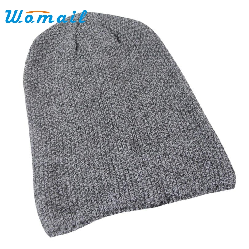 Skullies Beanies Winter Hat For Women Men Hip-Hop Hat Baggy Ski Cap Crochet Cuff Warm Spring Autumn Hat Female Drop Shipping S34 2017 new lace beanies hats for women skullies baggy cap autumn winter russia designer skullies