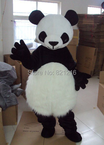 New Hot sale!! Lovely Panda adult mascot costume suit for any size