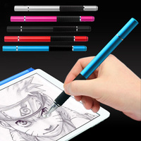 New 2 In 1 Metal Capacitive Screen Stylus Ballpoint Pen For IPhone 6 6s 7 IPad