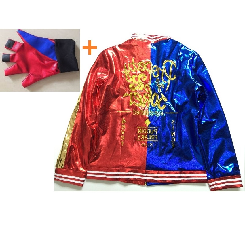 Aliexpress buy harley quinn jacket embroidery