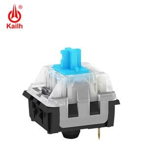 Image 3 - Kailh Long hua игровая механическая клавиатура переключатель SMD с коричневым/красным/синим/черным стержнем клавиш, с контактами