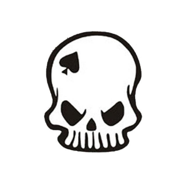 Aliexpress Buy 1114cm Strange Ghost Rider Skull Spades