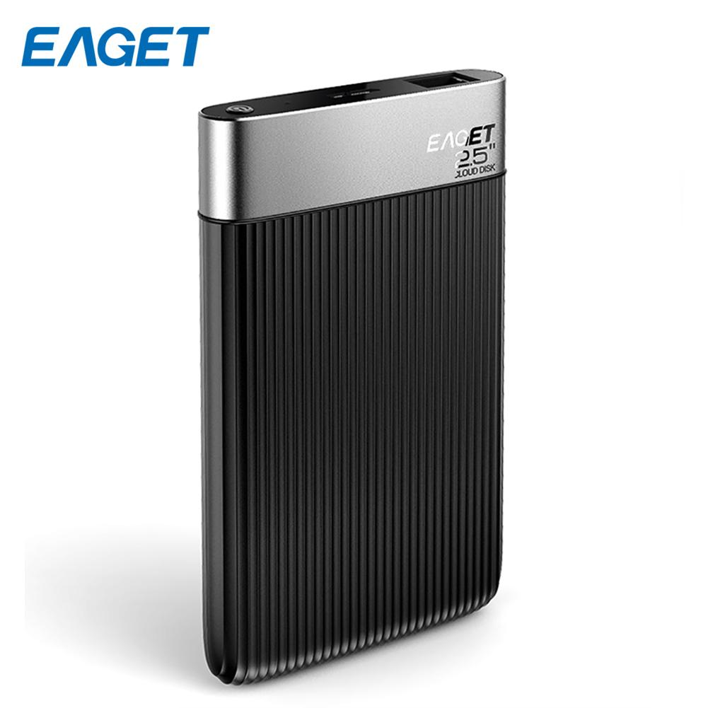 Eaget Y200 External Hard Drive 1TB USB HDD Encryption 2.5 Cloud disk Micro USB 3.0 Externo Disco Network Storage Hard Disk