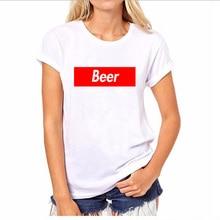 BEER in Red Box – women's shirt / girlie