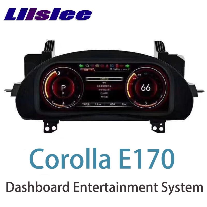 LiisLee инструмент Панель Замена приборной панели развлечения интеллектуальные Системы для Toyota Corolla E170 2013 ~ 2018