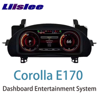 LiisLee Instrument Panel Replacement Dashboard Entertainment Intelligent System for Toyota Corolla E170 2013~2018