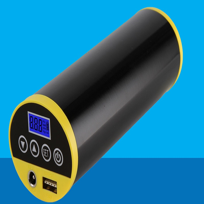 Free shipping DC INVERTER Electric Auto air ePump for Car Motorcycle Bike with Digital LCD with USB Rechargeable