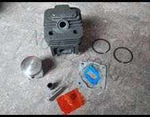 1E44F 5 Zylinder für Gras Trimmer CG520 pinsel cutter ersatzteile 44 5 zylinder kit 44mm und kolben set