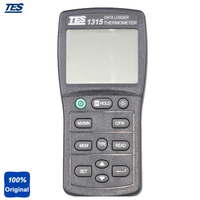 TES 1315 Highly Accurate Digital Thermometer Thermometer K, J, E, T, R, S, N Type With Warning Beeper 7500 DataLogging