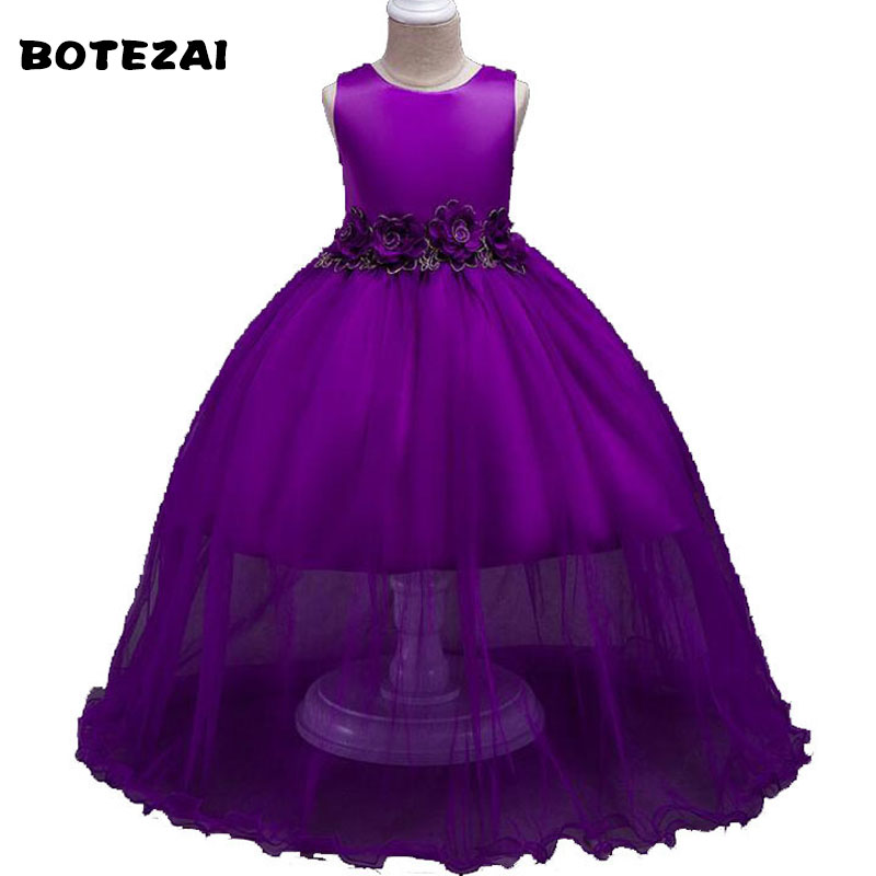 Brand Baby Girl Dress Children Kids Dresses For Girls 4 5 6 8 10 Year Birthday Outfits Dresses Girls Evening Party Formal We