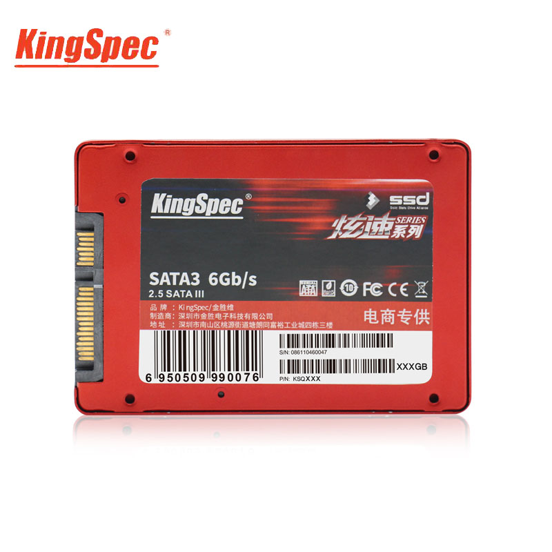 KingSpec SATAIII HD SSD 480GB Disco Duro Solido HDD 2.5 pouces SATA disque dur SSD pour ordinateur portable ordinateur portable HD ordinateur de bureau