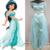 Adulto Mujeres Niñas Anime Princesa Jasmine Aladdin Cosplay Ropa