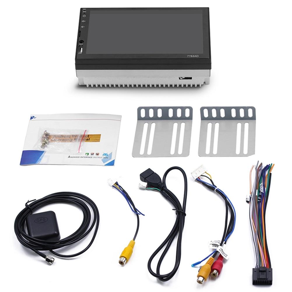 Car Android navigation Bluetooth MP5 player Touch-screen MP4 card machine DVD navigation machine 7784AD стоимость