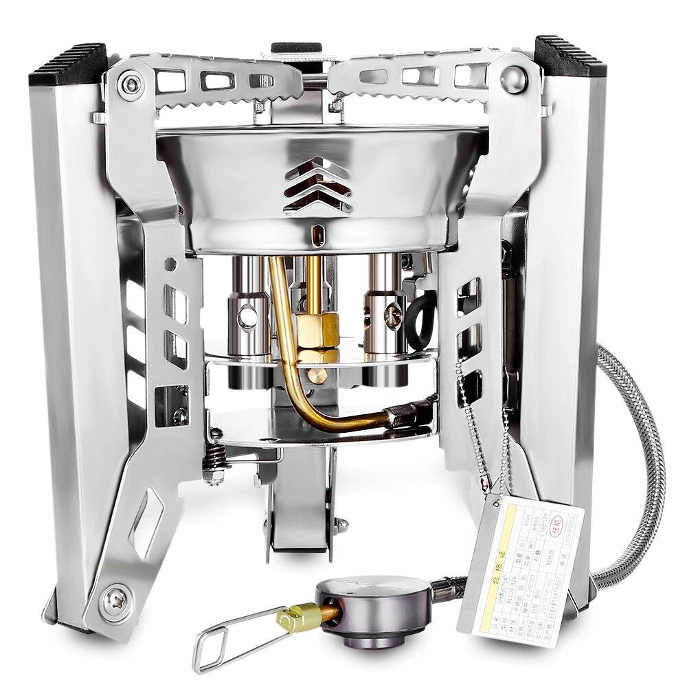 Bulin BL100 B16 наружные сплит газовые горелки плита ветрозащитное Походное оборудование походная печь для пикника складной портативный барбекю снаряжение - 3