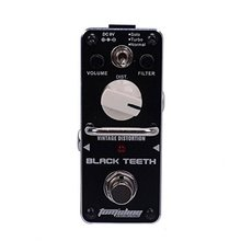 AROMA ABT-3 BLACK TEETH Vintage Distortion Effect Pedal Guitar Effect Pedal цена и фото