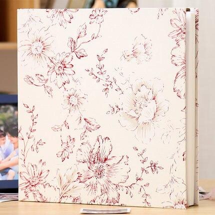 5678 10 pulgadas un paquete de plástico foto se puede cargar algodón jacquard álbum insertar álbum de fotos mezclado - 3