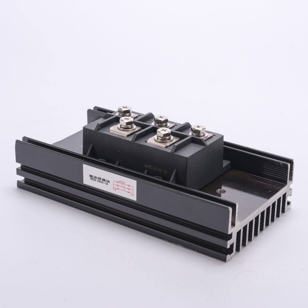 MDS-200A bridge diode rectifier three phase 200A AMP 1600V Volt brush generator fast recovery rectifier bridge function module
