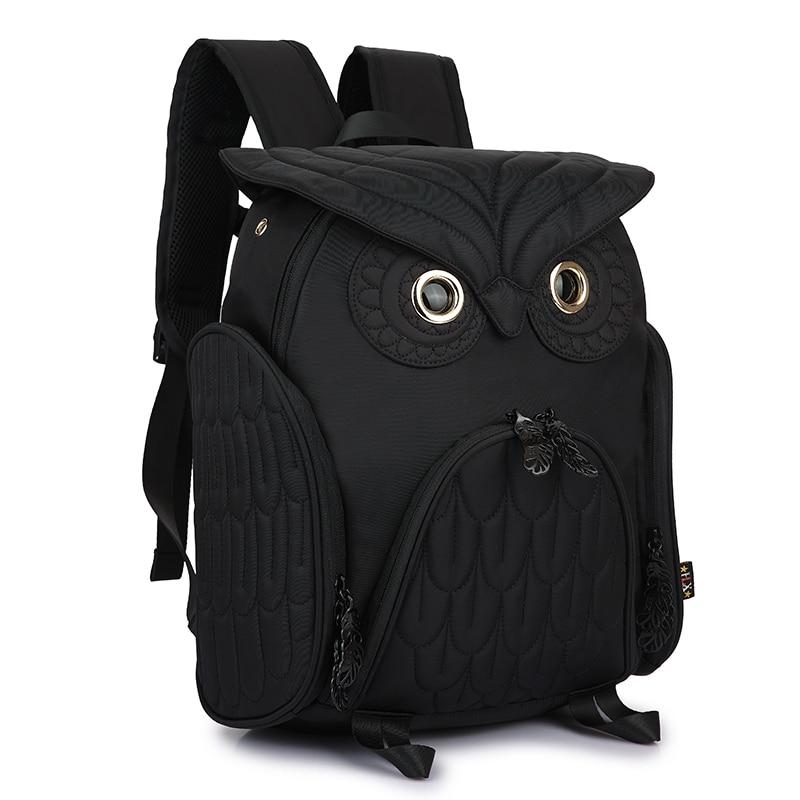 2018 Fashion Terbaru Unisex ransel wanita owl ransel ukuran besar tas - Ransel - Foto 3