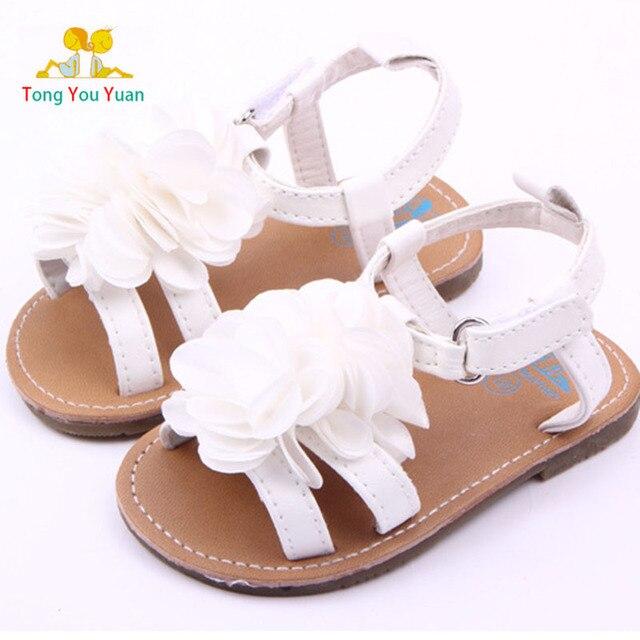 Pivoine Bébé Lx2 Âge Dur Chaussures Fond Blanc Enfant En Bas Nouvelle Fleur Belle Rose Sandales YH9EWD2I