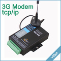 M240-H TCP/IP Modbus Industrial 3g cellular modem with RS232/RS485 IO ports for SCADA