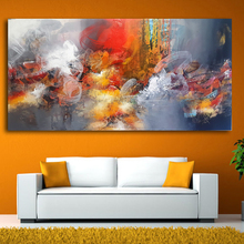 2017 hot sale large size Iarts Modern Abstract Painting Colorful Art Decor No Stretcher and Frame free shipping