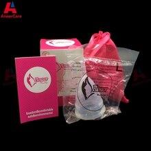 50Pcs Retail Menstrual Cup For Women Feminine Hygiene Product
