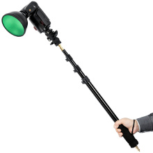 AD-S13 21-63″/55-160cm Portable Light Boom Pole Stick 1/4″ Male Thread