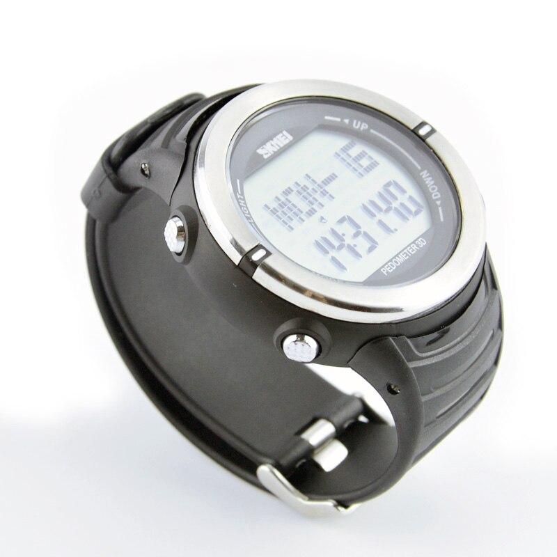 SKMEI Heart Rate Monitor Watches, Outdoor Pedometer Calories Counter Smart Digital Watche Masculino Wristwatch for man women