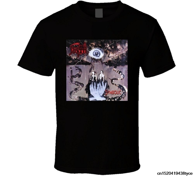 Jzecco Death Symbolic Rock Band Album Cover Classic T Shirt In T
