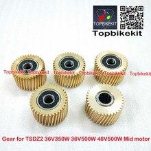 Orijinal 1 adet TongSheng Metal Dişli/Mavi Dişli için Değiştirin TSDZ2 36V 250 W/36 V 350 w/48 V 500W Orta Tahrik TSDZ2 merkezi motor