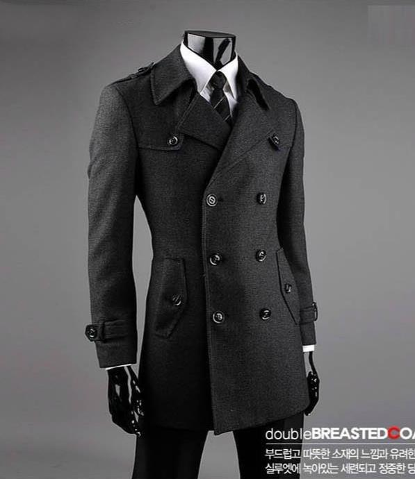 Popular Cashmere Pea Coat Men-Buy Cheap Cashmere Pea Coat Men lots