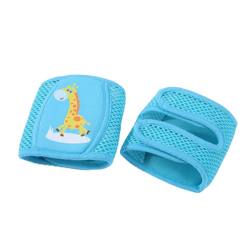 Baby Safety Mesh Kneepad Leg Warmer Infants Toddlers Crawling Elbow Baby Leg Protection Baby Knee Pads Summer