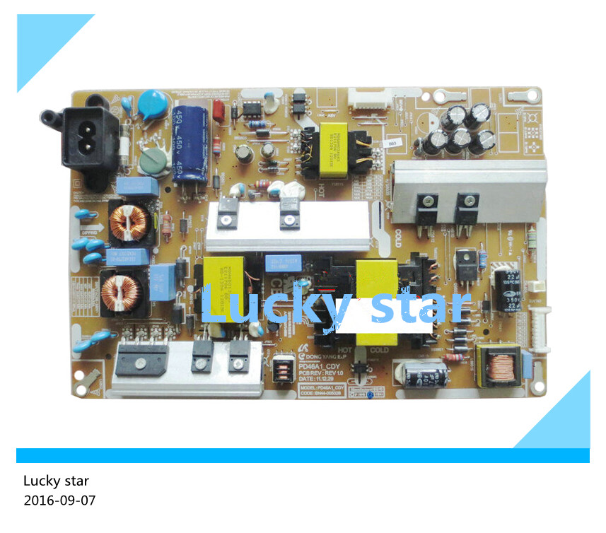 95% new Original power supply board BN44-00502B PD46A1_CDY good working good working original 90% new used for power supply bn44 00449a pslf500501a bn44 00450b pslf530501a