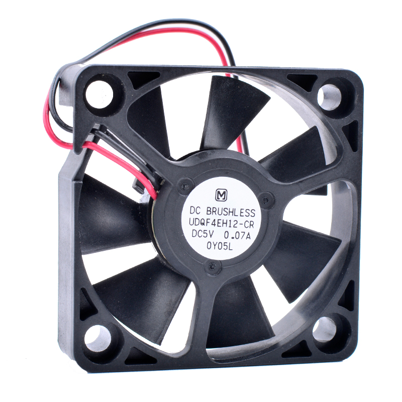 COOLING REVOLUTION UDQF4EH12-CR 4cm 40mm fan 4010 <font><b>DC</b></font> 5V 0.07A Remodel <font><b>USB</b></font> small silent cooling fan image