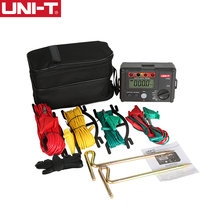 UNI-T UT522 ЖК-дисплей Цифровой Сопротивление заземления Напряжение метр тестер 0-400 В и 0-4000 Ом