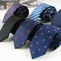 Nuevo Flaco Algodón Hilo de Poliéster Corbata de Los Hombres Corbatas corbatas Corbatas corbata Corbata Krawatte gravata Delgada Atv de La Boda Barato