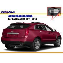 Tylna kamera samochodowa do cadillaca SRX 2011 ~ 2014 kamera cofania HD CCD RCA NTST PAL tanie tanio Liislee CN (pochodzenie) Plastikowe + Szkło Drutu Pojazd backup kamery Z tworzywa sztucznego