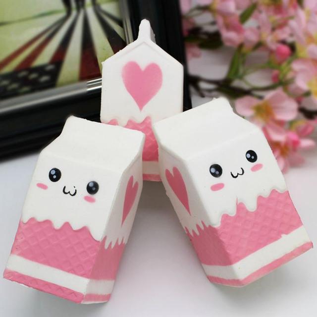Milk Bag Squeeze Toy