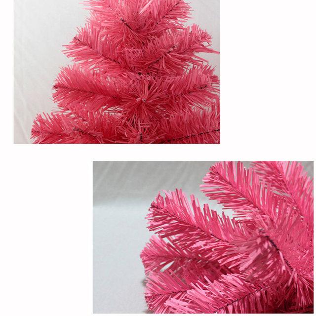 Online Shop 60cm Pink Color Christmas Tree Creative Encryption